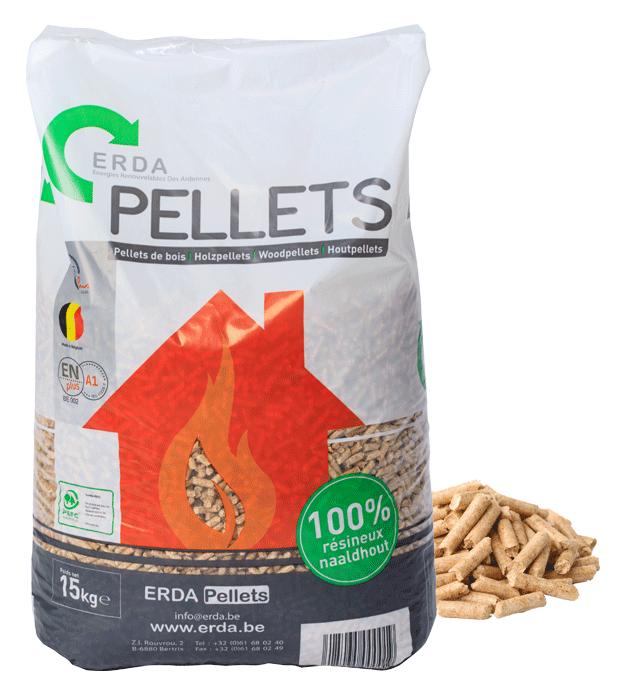 ERDA pellets sac